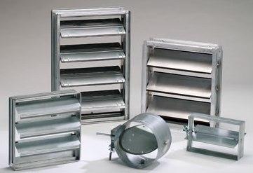 Aqua Air Systems Ltd  - Louvers & Dampers